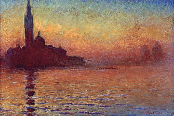 Claude Monet (San Giorgio Maggiore at Dusk)