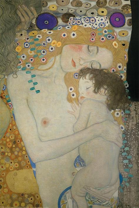 Gustav Klimt (Mother and Child)