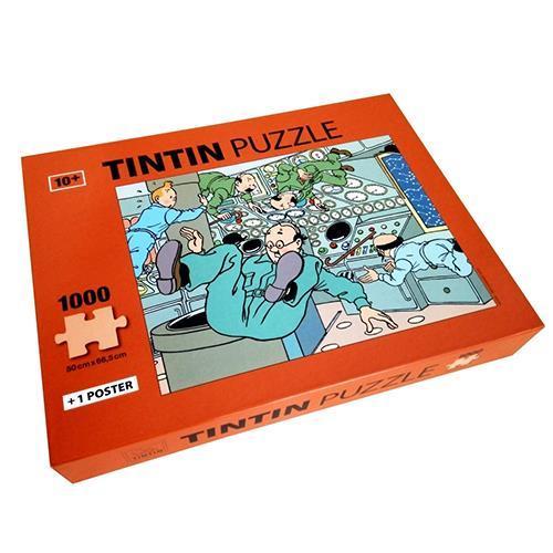 Tintin - Pussel - I viktlöst tillstånd