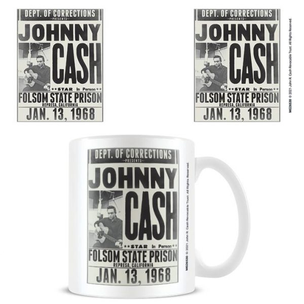Johnny Cash (Folsom State Prison) - Mugg