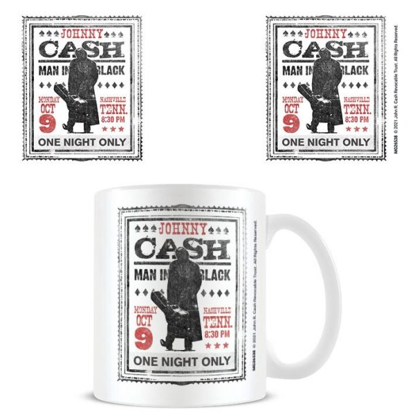 Johnny Cash (Man In Black) - Mugg
