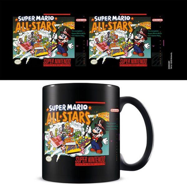 Super Nintendo (Super Mario All Stars) Black - Mugg