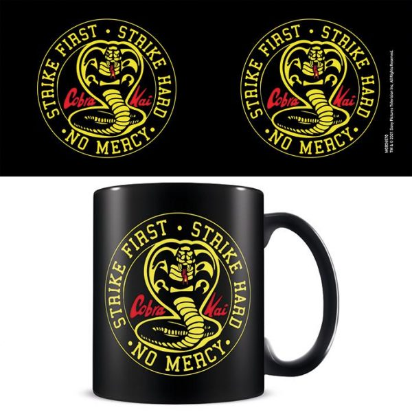 Cobra Kai (Emblem) Black - Mugg