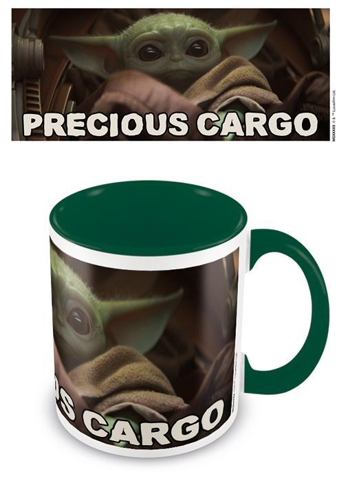 Star Wars: The Mandalorian (Precious Cargo) Green - Mugg