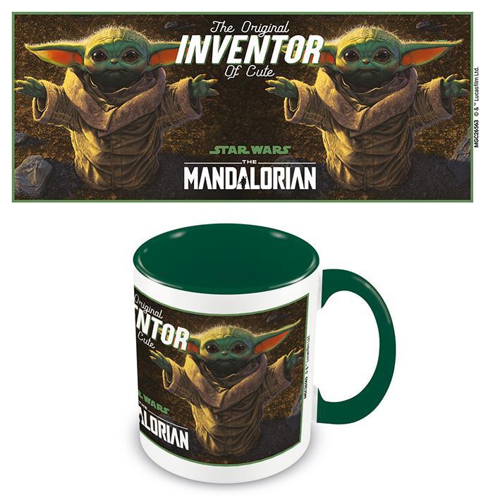 Star Wars: The Mandalorian (The Original Inventor Of Cute) Green - Mugg