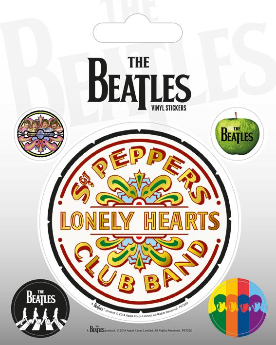 Vinyl Sticker Pack - Klistermärken - The Beatles (Sgt. Pepper)