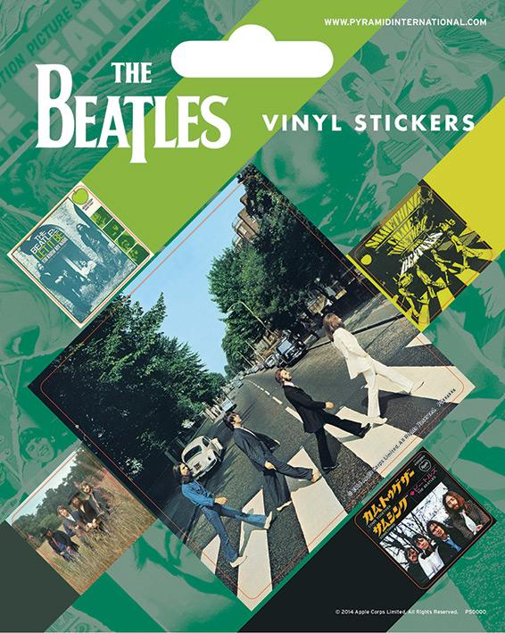 Vinyl Sticker Pack - Klistermärken - The Beatles (Abbey Road)
