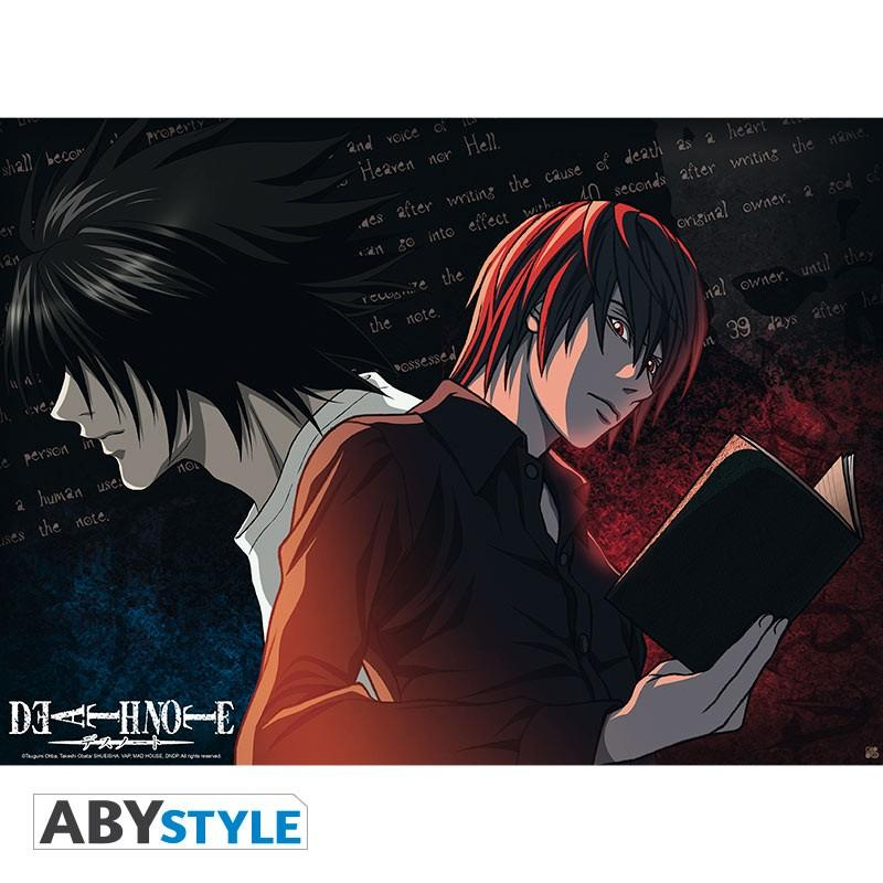 "DEATH NOTE - Poster ""L VS Light"""