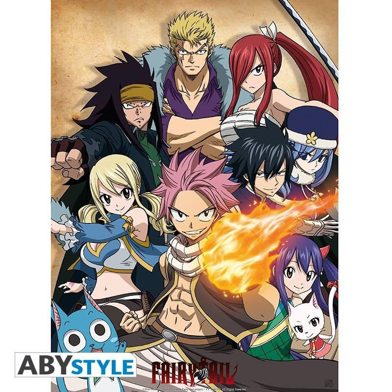 """FAIRY TAIL - Poster """"Guild"""""""
