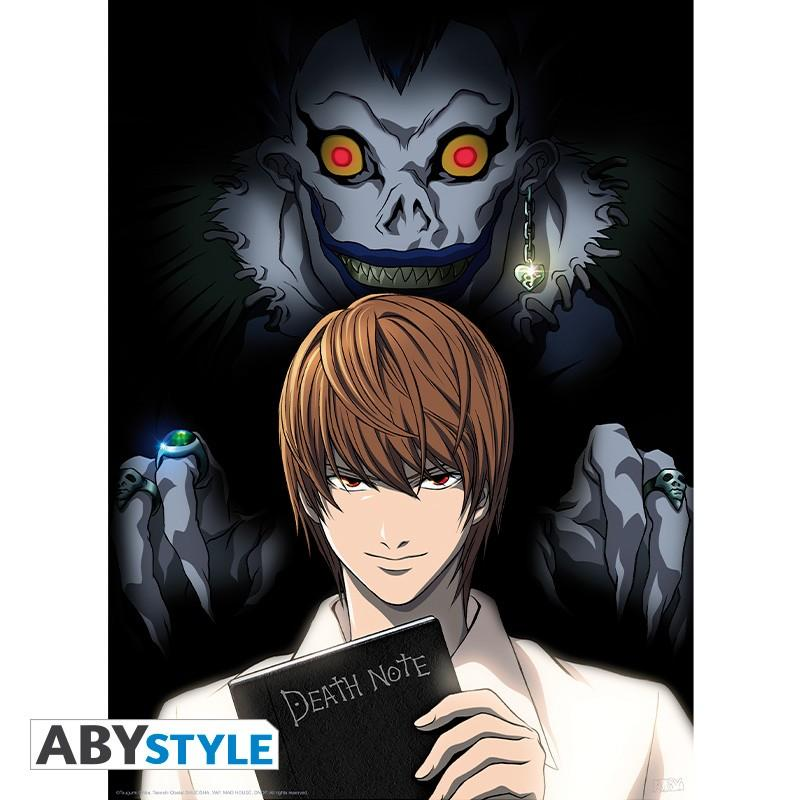 "DEATH NOTE - Poster ""Light & Ryuk"""