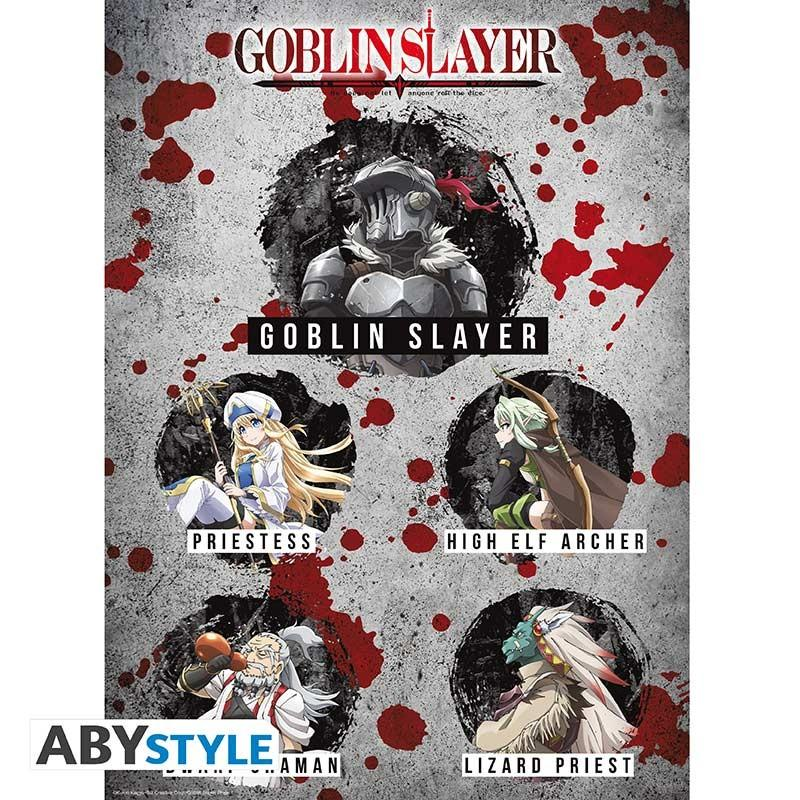 """GOBLIN SLAYER - Poster """"Characters"""""""