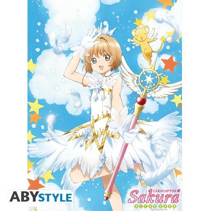 """CARDCAPTOR SAKURA - Poster """"Sakura & Wand"""""""