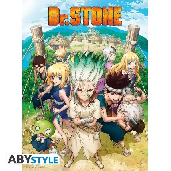 """DR STONE - Poster """"Group"""""""