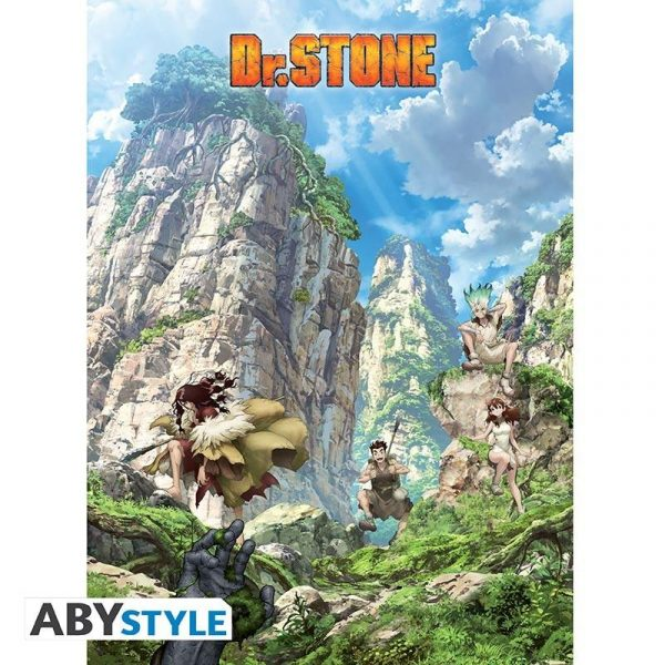 """DR STONE - Poster """"Stone World"""""""
