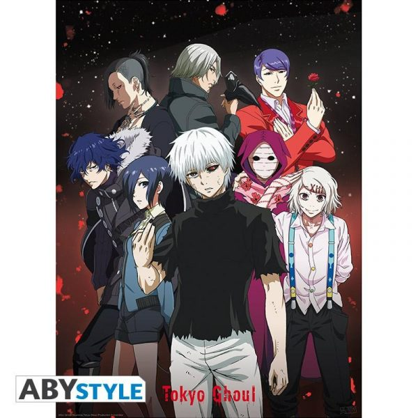 """TOKYO GHOUL - Poster """"Group"""""""