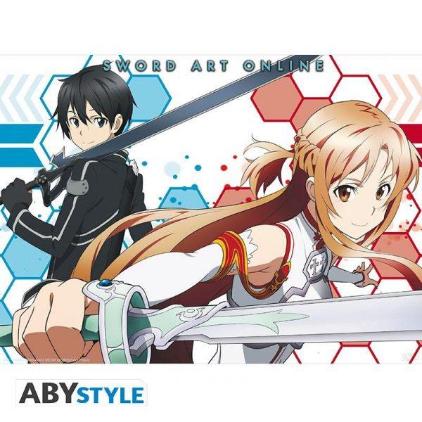 SWORD ART ONLINE - Poster Asuna & Kirito 2