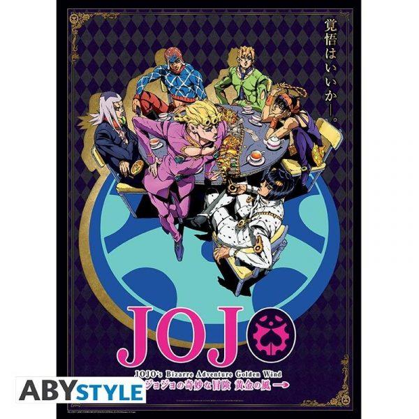 """JOJO'S BIZARRE ADVENTURE - Poster """"Golden Wind"""""""