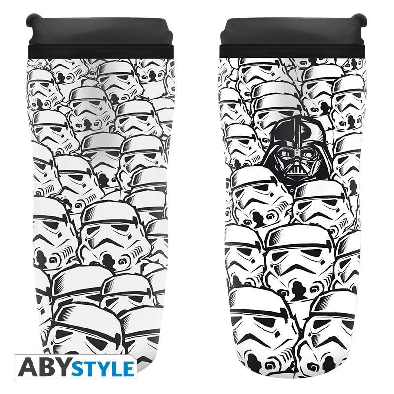 "STAR WARS - Travel mug ""Where is Vader?"""