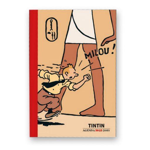 Tintin - Kalender, bok, 9cm x 16cm 2022