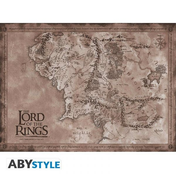 LORD OF THE RINGS - Set 2 Chibi Posters