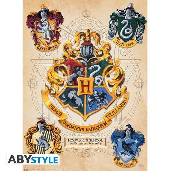 HARRY POTTER - Set 2 Chibi Posters - Crest & Marauders
