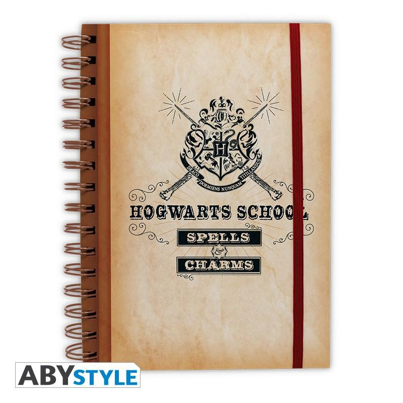 "Anteckningsbok - HARRY POTTER - Notebook ""Hogwarts School"""