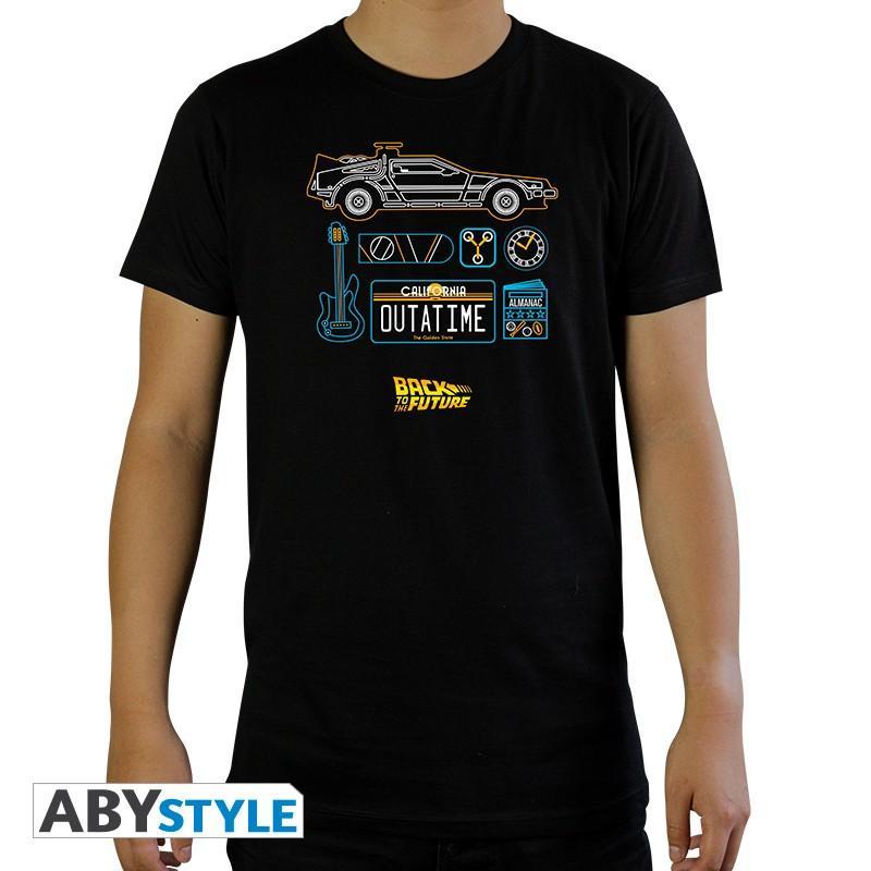 """BACK TO THE FUTURE - Tshirt """"DeLorean"""""""