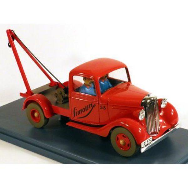 Tintin - 1:24 Modellbil #33 - Tow Simoun