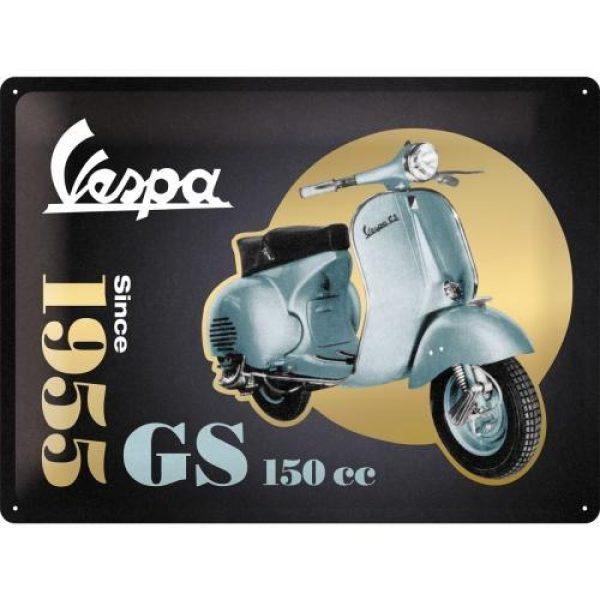 Metallskylt 30×40 cm Vespa GS 150