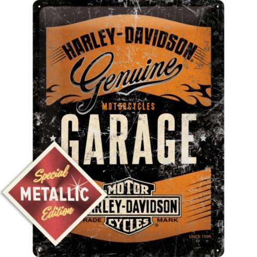 Metallskylt 30×40 cm Harley-Davidson Metallic Special Edition