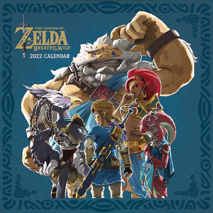 The Legend of Zelda 2022 - Kalender 30 x 30 cm