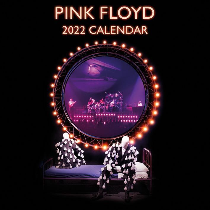 Pink Floyd 2022 - Kalender 30 x 30 cm