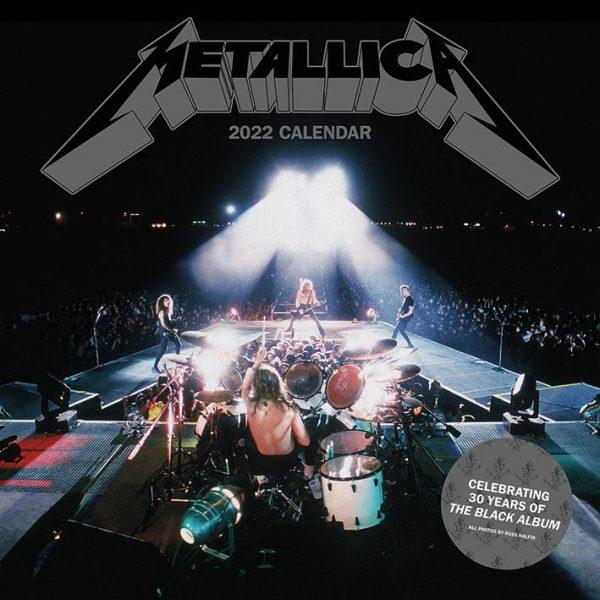 Metallica 2022 - Kalender 30 x 30 cm