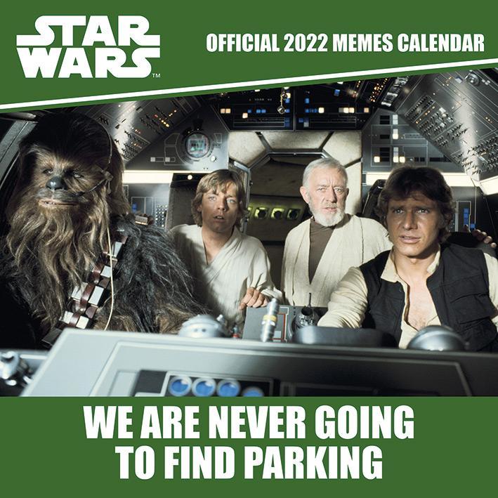 Star Wars Memes 2022 - Kalender 30 x 30 cm