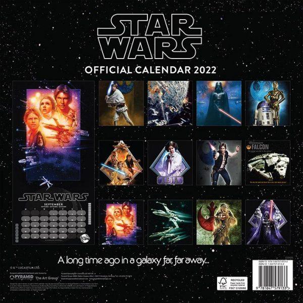 Star Wars Classic 2022 - Kalender 30 x 30 cm