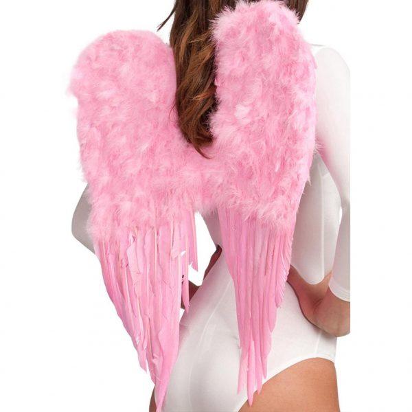 Rosa fjädervingar