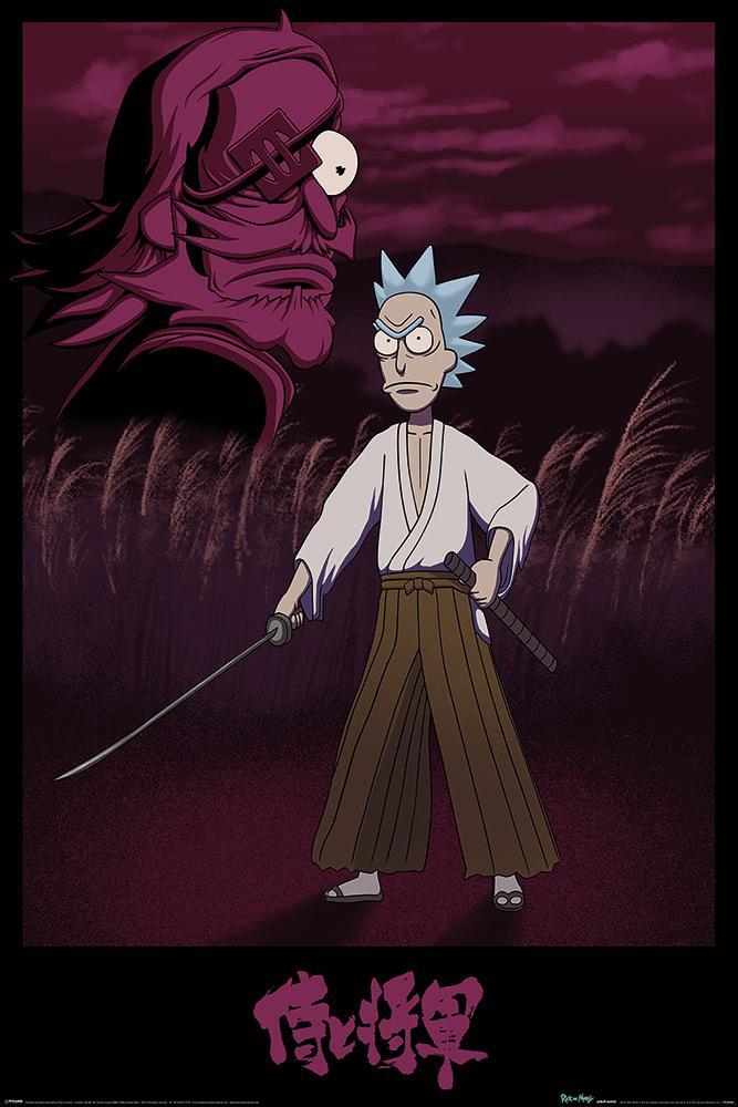 Rick and Morty (Samurai Rick)
