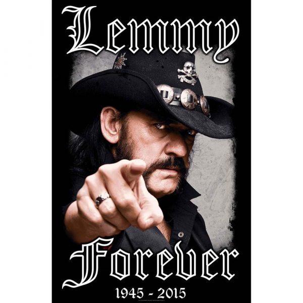 Posterflagga -Lemmy Forever