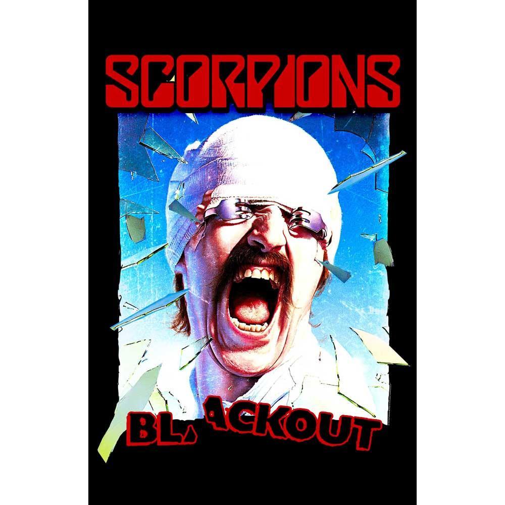 Posterflagga -Scorpions - Blackout
