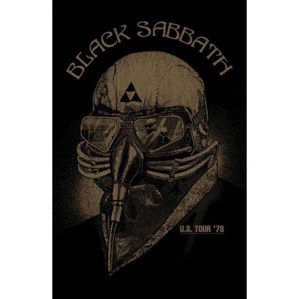 Posterflagga -Black Sabbath - US Tour78