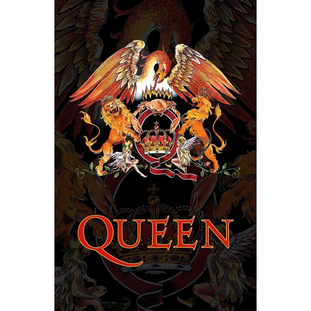 Posterflagga -Queen - Crest