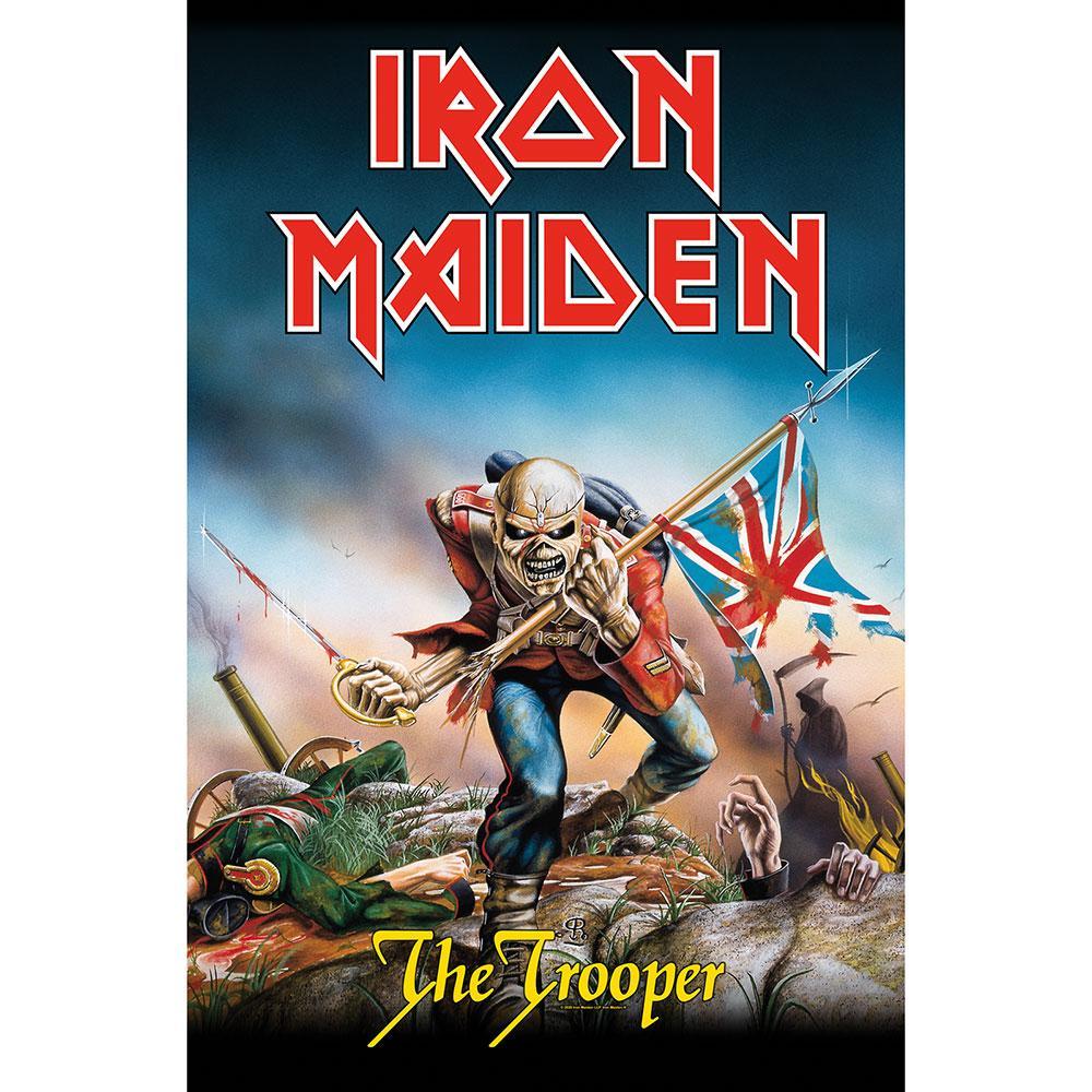 Posterflagga -Iron Maiden - The Trooper