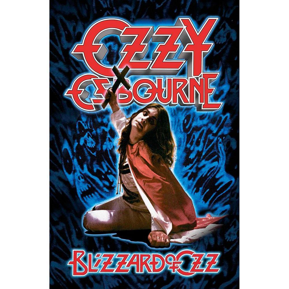 Posterflagga -Ozzy Osbourne - Blizzard of Ozz