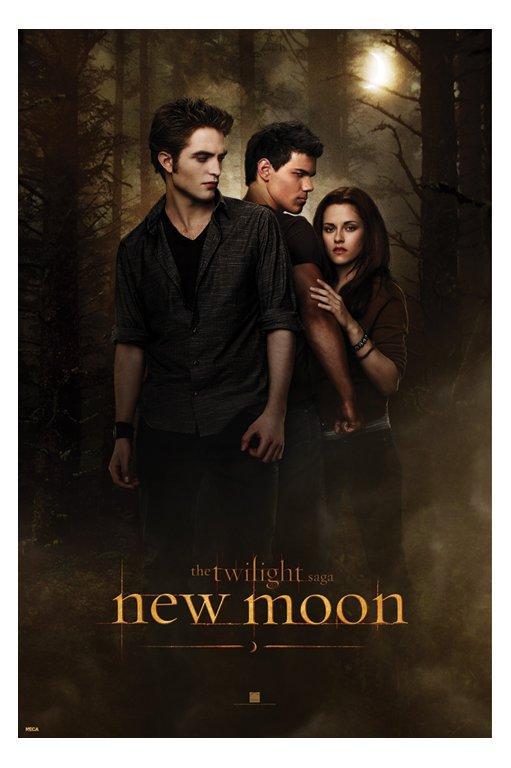 Twilight New Moon - Edward, Jacob, Bella